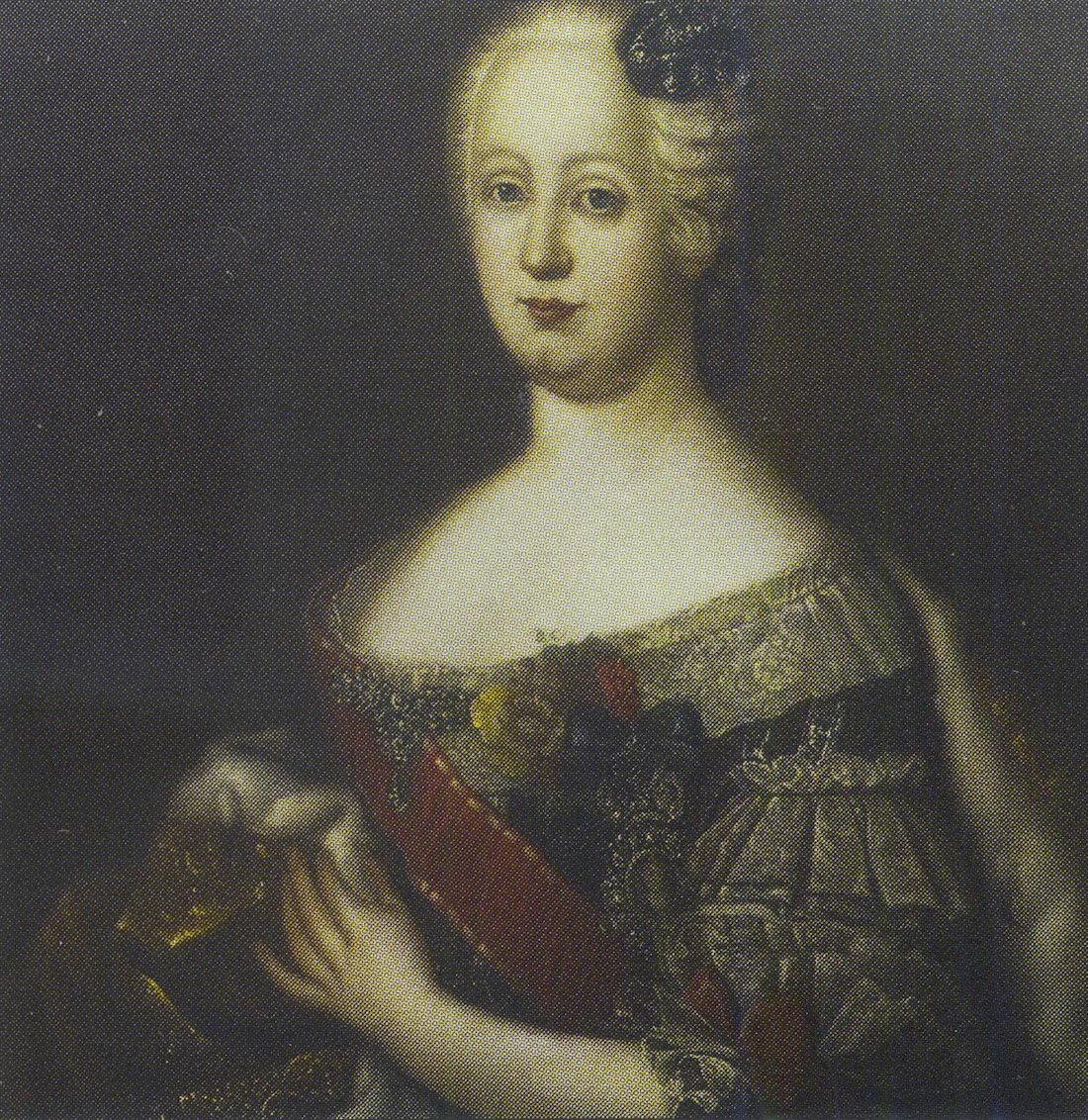 Портрет герцогини Иоганны Елизаветы Ангальт-Цербстской.
