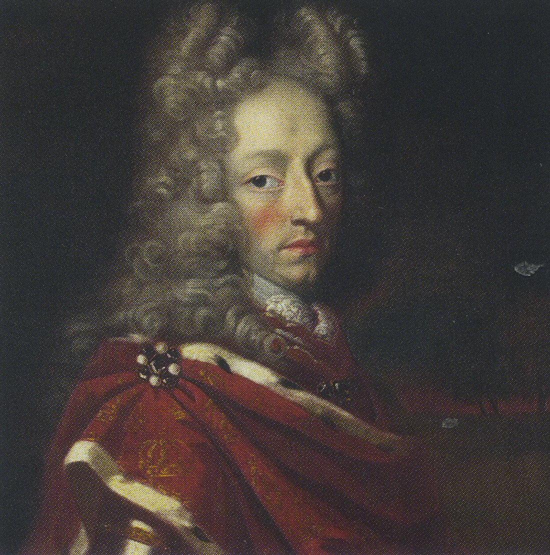 Портрет датского короля Фредерика IV