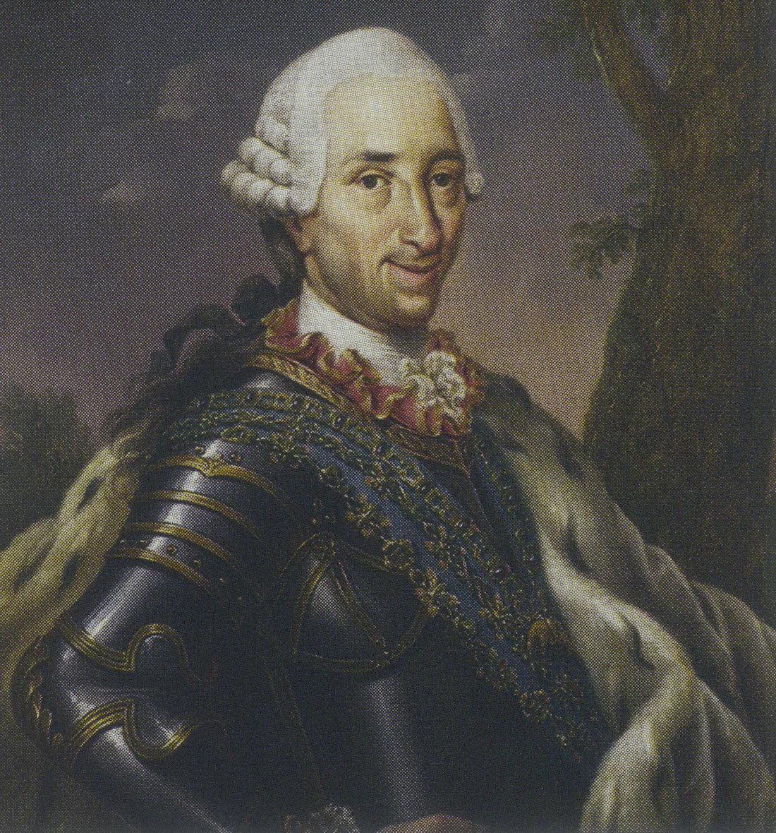 Портрет испанского короля Карла III