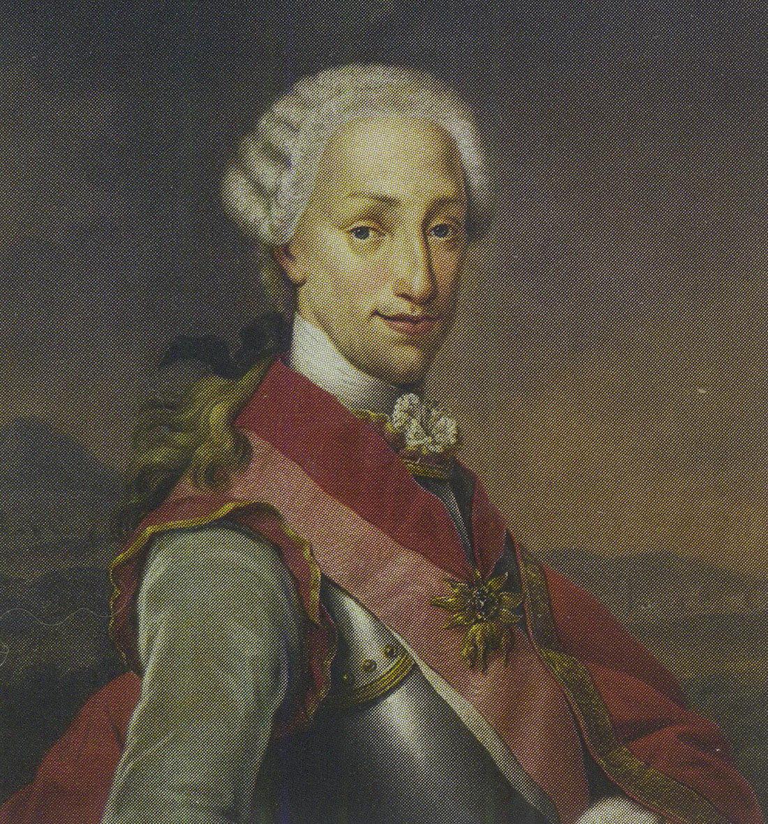 Портрет неаполитанского короля Фердинанда IV