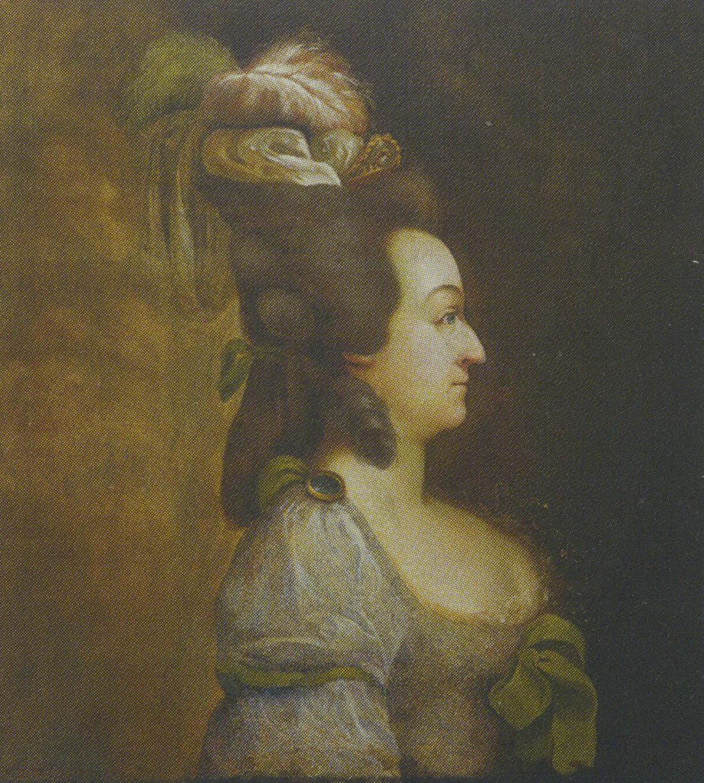 Портрет французской королевы Марии Антуанетты