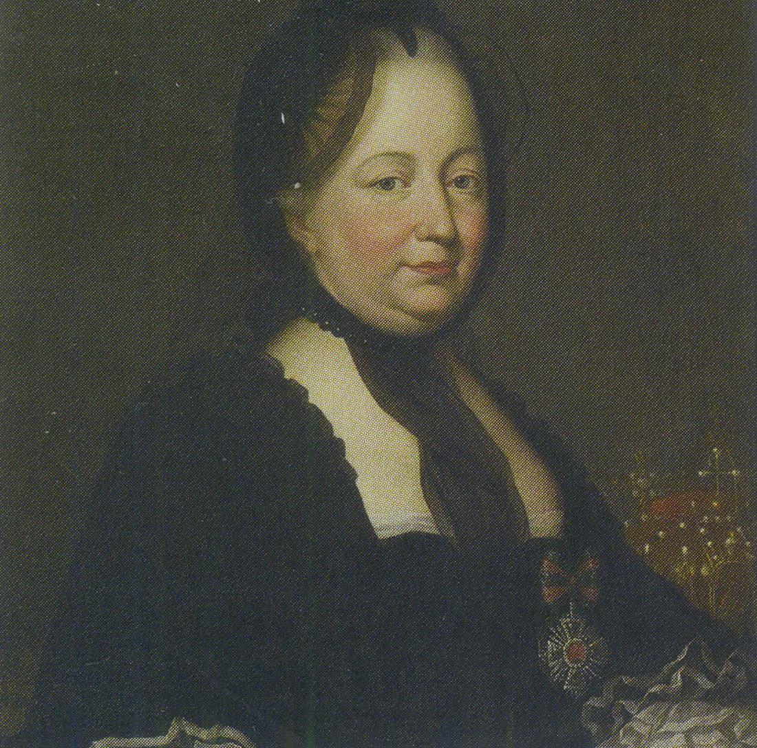 Портрет австрийской императрицы Марии Терезии