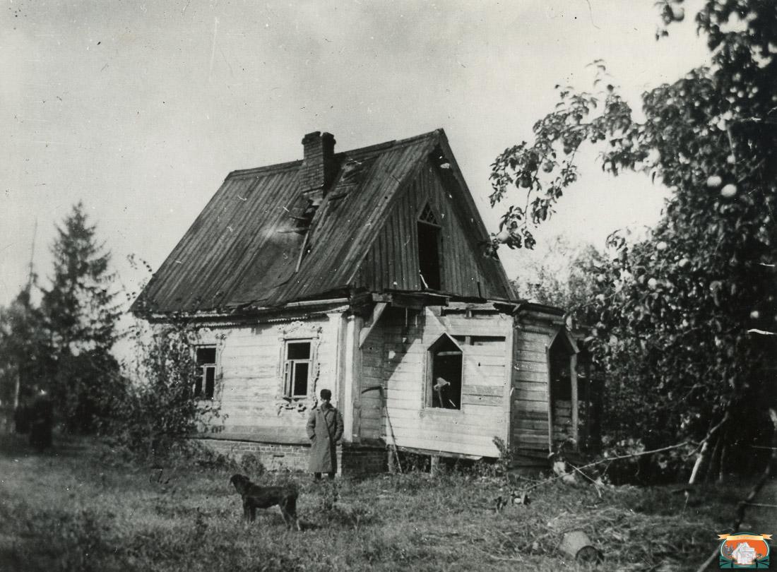 Усадьба Мелихово. Флигель, где была написана Чайка