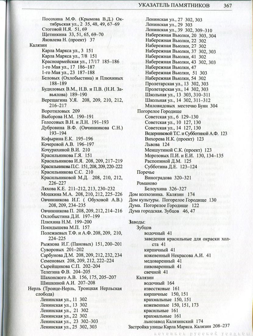 Свод памятников архитектуры и монументального искусства России: Тверская область, часть 4