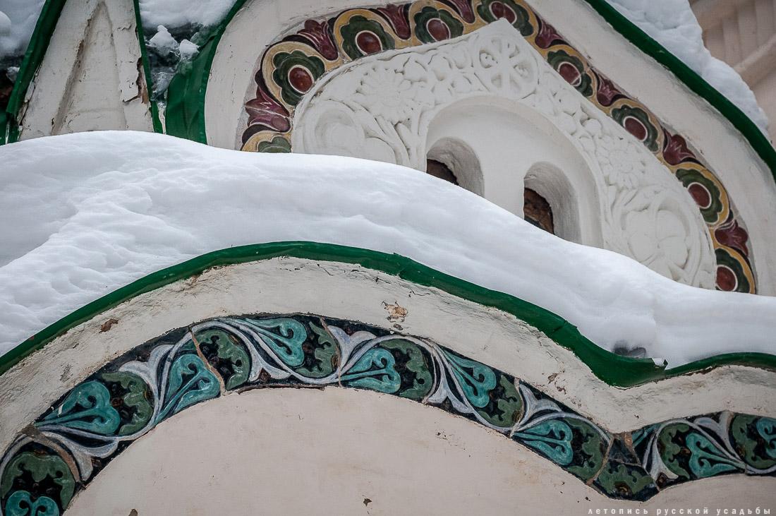 усадьба Абрамцево, зима 2017