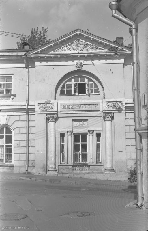 усадьба Баташева, г.Москва, ул. Яузская д.11