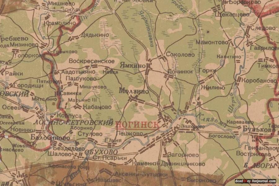 Карта Ветковского Района Подробная