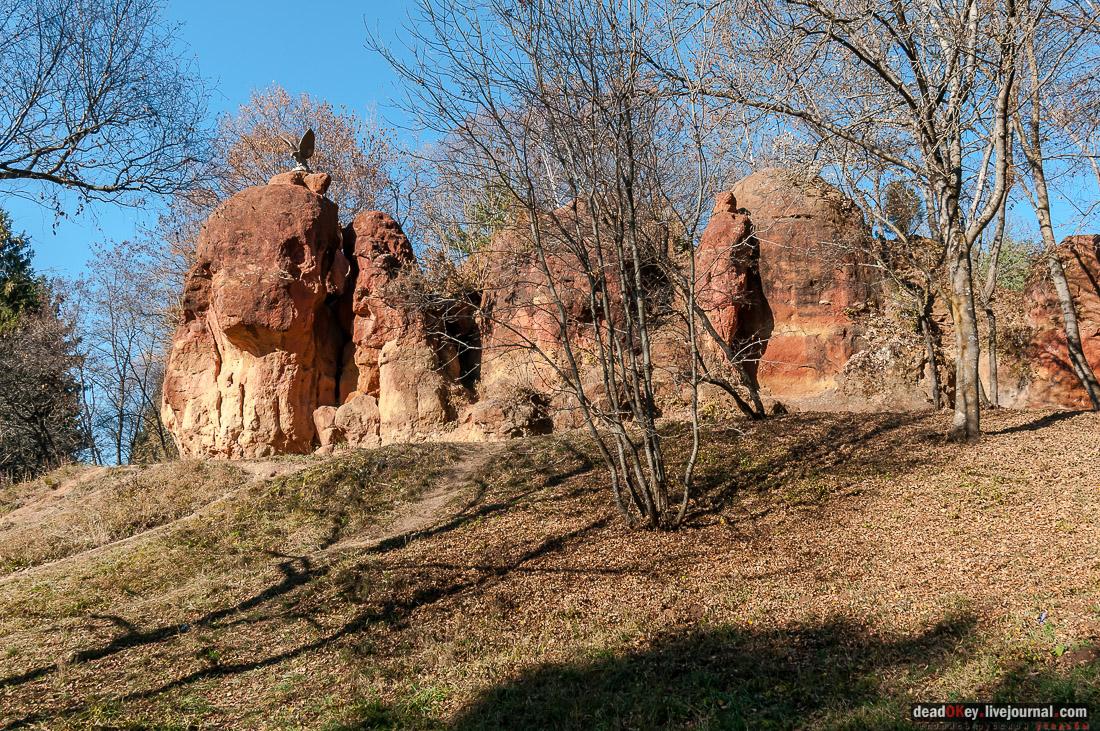 Кисловодский курортный парк, г. Кисловодск, верхний парк