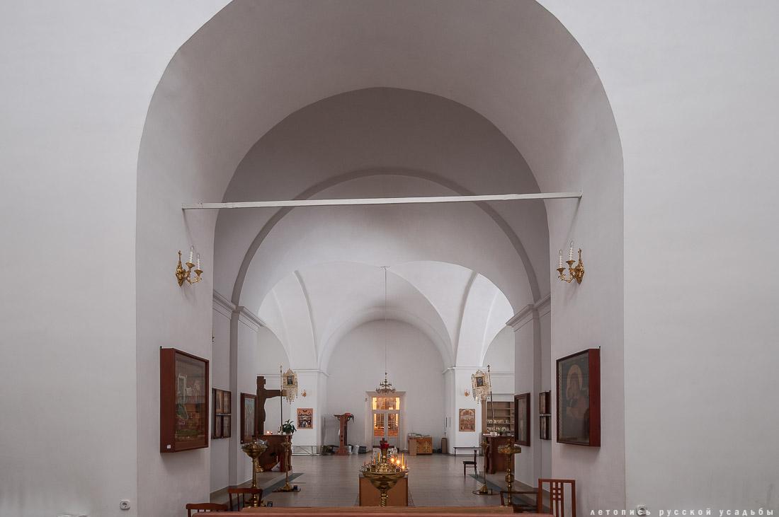 усадьба Мещерино, церковь Рождества Богородицы, усадебный дворец Шереметевых