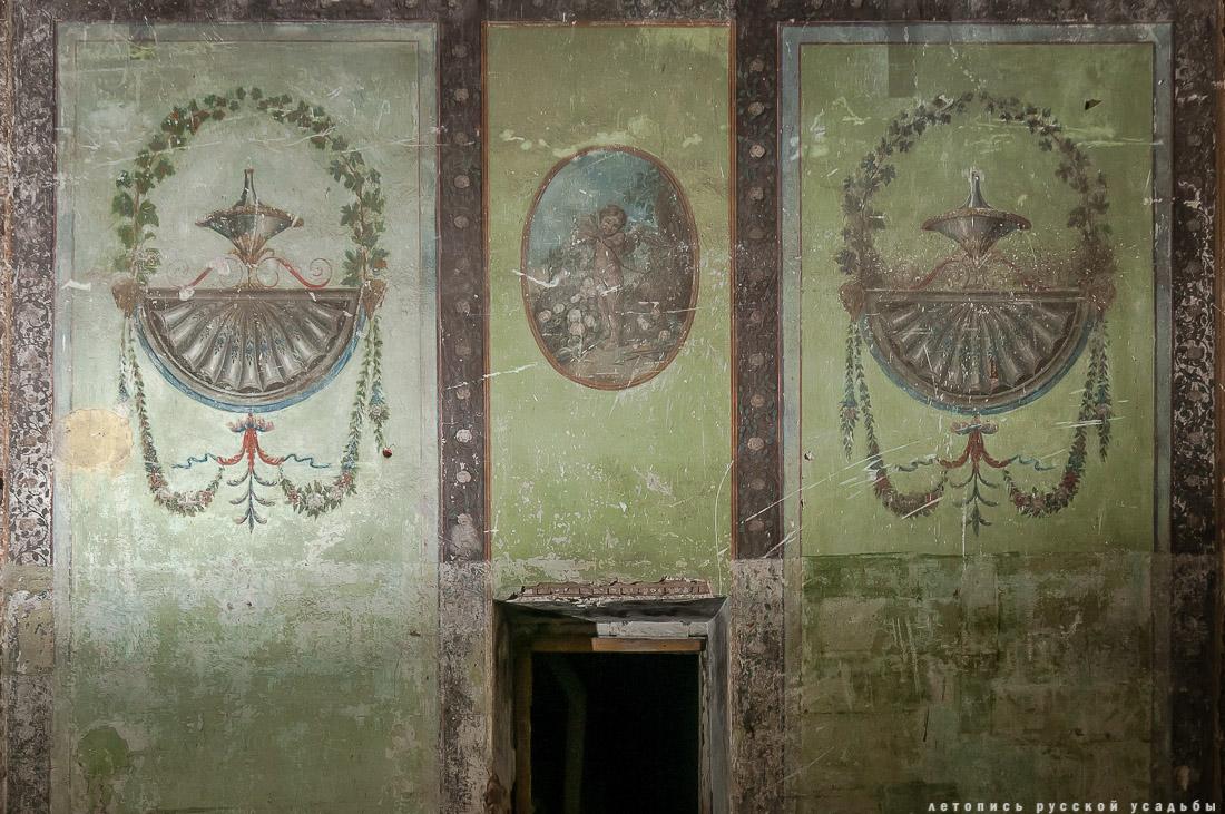 усадьба Никольское-Урюпино, интерьеры Белого домика