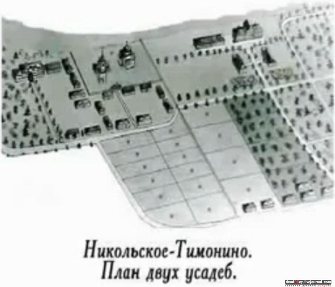 Усадьба Никольское-Тимонино, Щелковский район, Лосино-Петровский