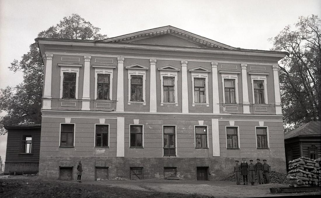 усадьба Подмоклово, флигель, аукцион рубль за метр. Программа рубль за метр в Московской области