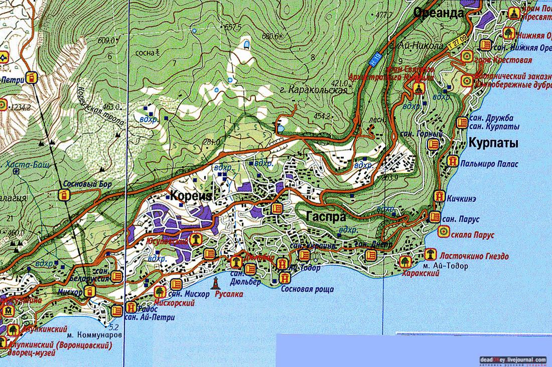 парк ясная поляна карта схема