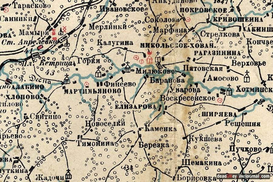 помещики в московской области карта сделать чтобы