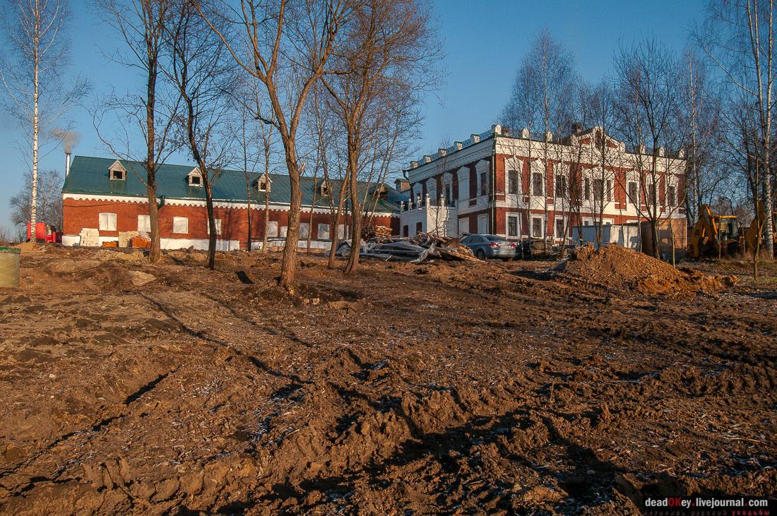 усадьба Талицы Аигиных, интерьер после реставрации, ноябрь 2014