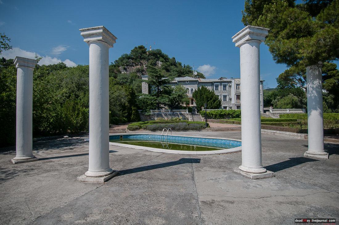 Юсуповский дворец в Кореизе, Крым