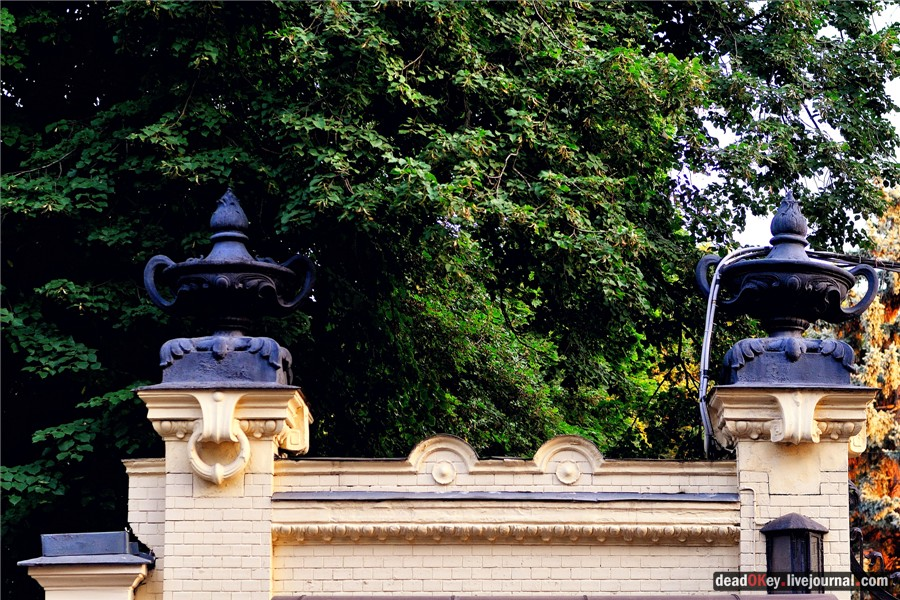 Особняк Г.В. Бардыгиной (Э.Г. Марк), 1911, архитектор И.Т. Барютин, ул. Воронцово Поле, 6