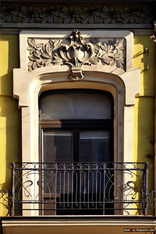 Доходный дом О.О. Вильнера, Старая Басманная ул., 12, архитектор Н.И. Жерихов