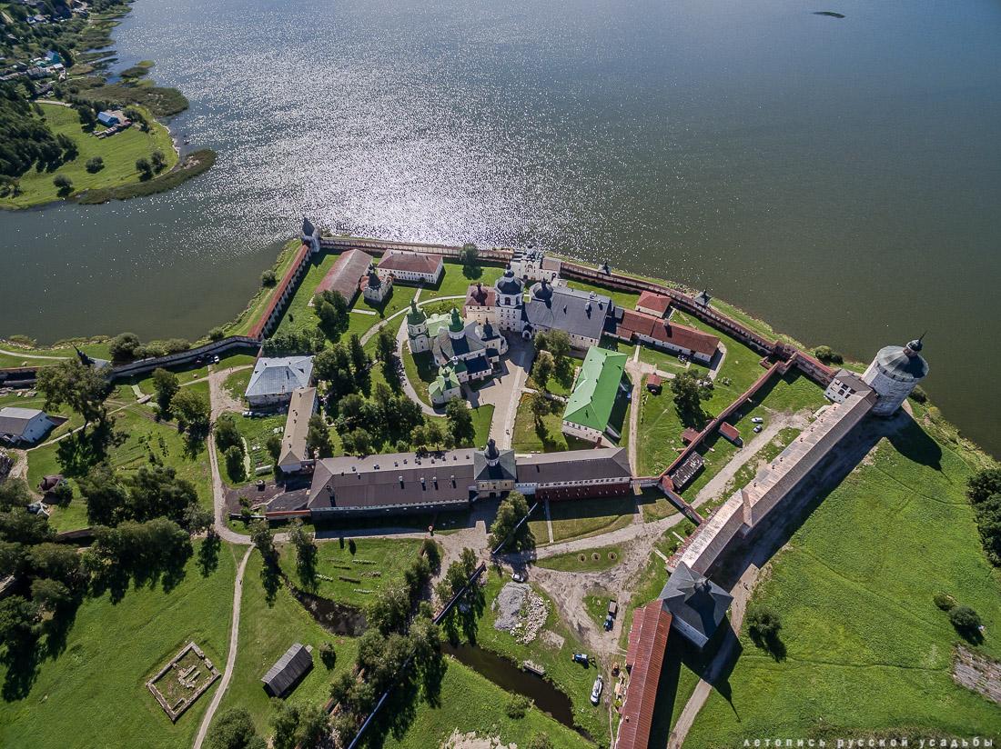 усадьба Кирилло-Белозерский монастырь с квадрокоптера