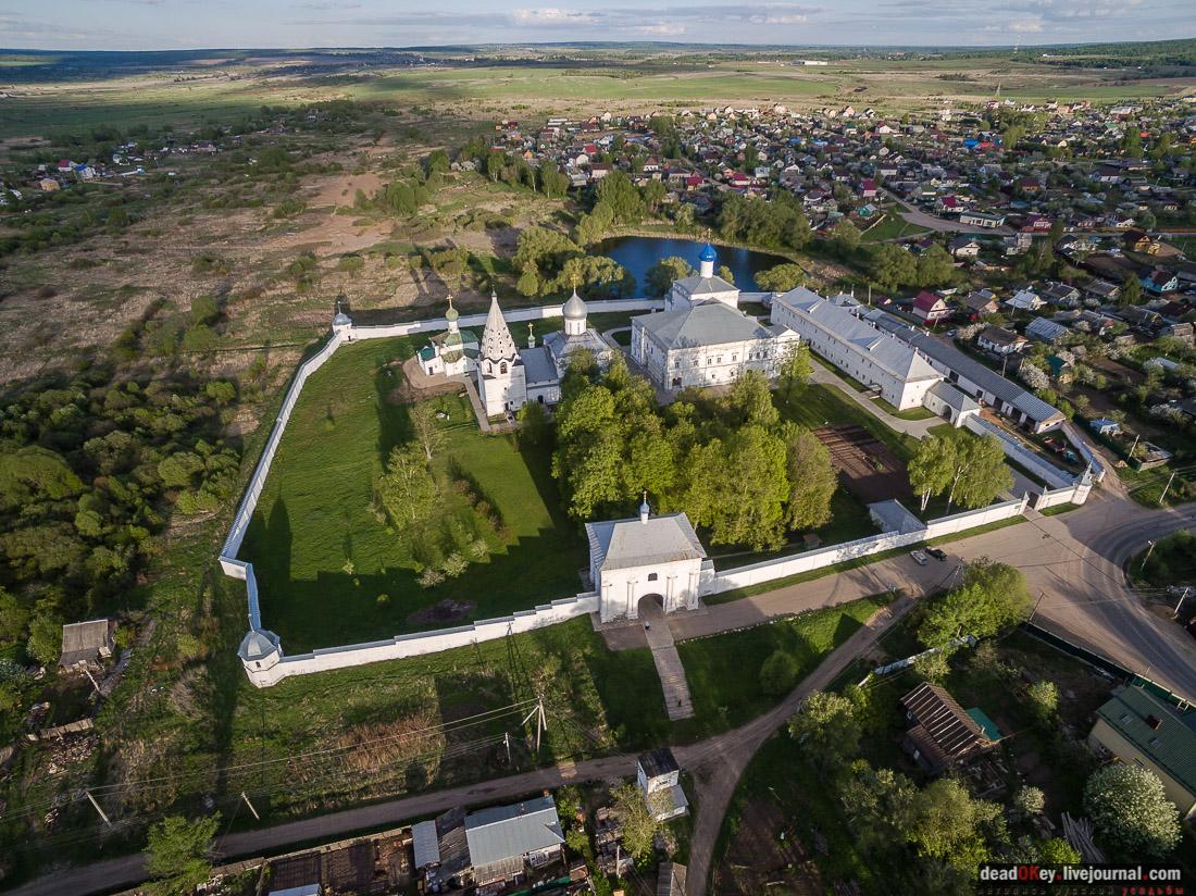 Переславль-Залесский, монастыри, виды с квадрокоптера