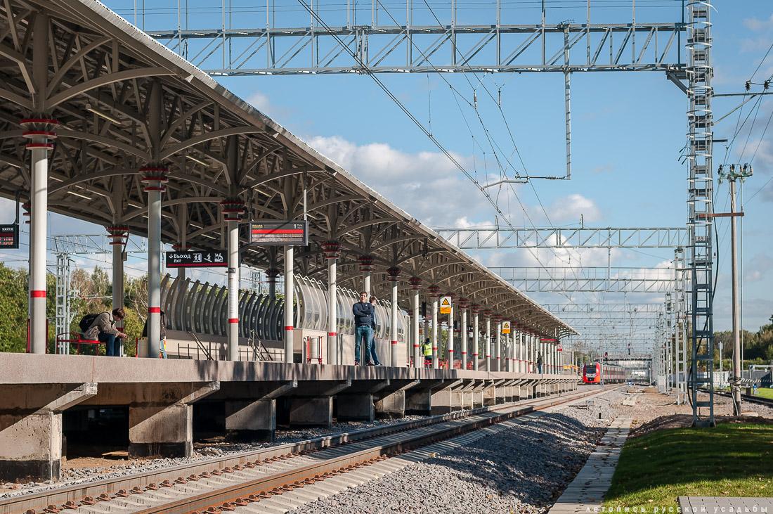 Станция Белокаменная МКЖД. Возвращение истории