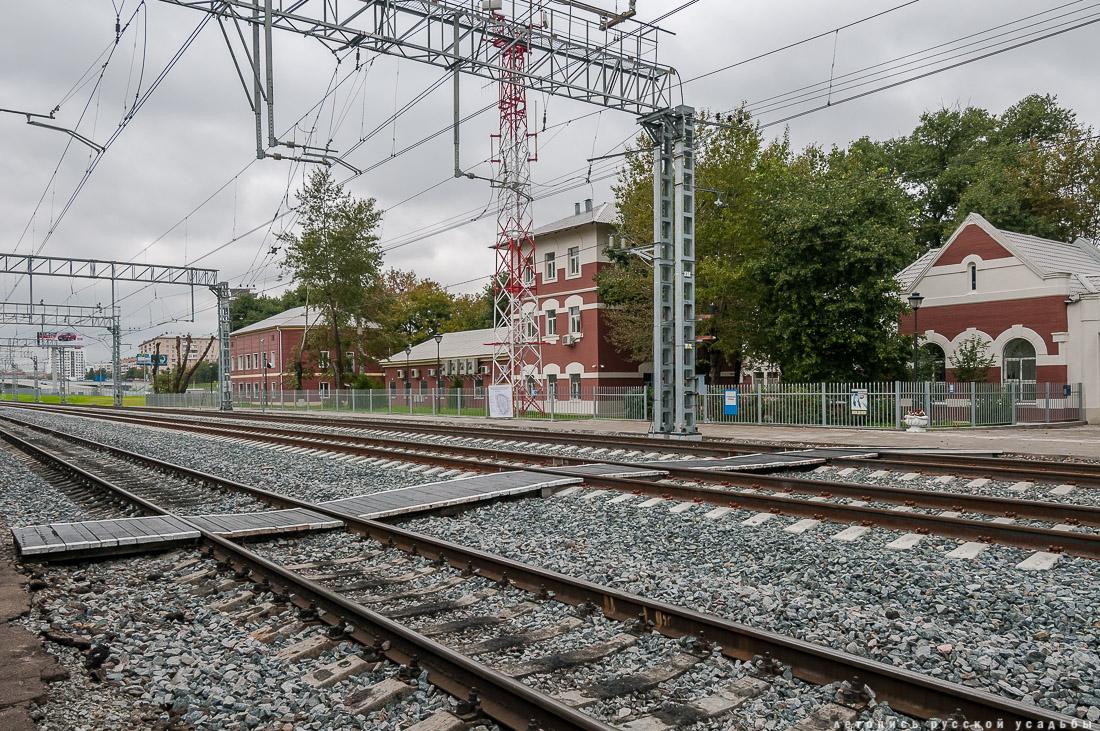 МКЖД. МЦК. Станция Угрешская.