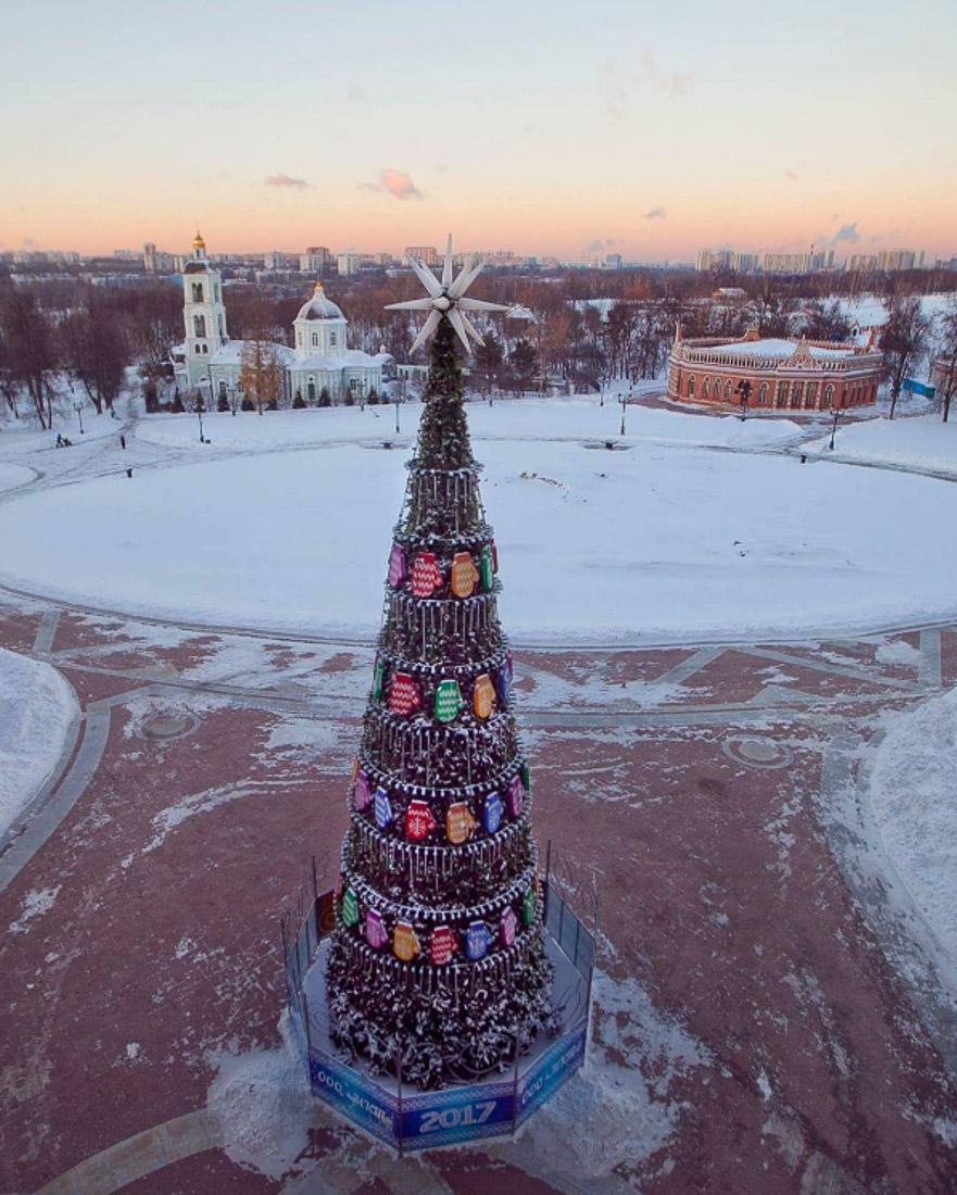 Усадебные елки 2017. С Рождеством Христовым!