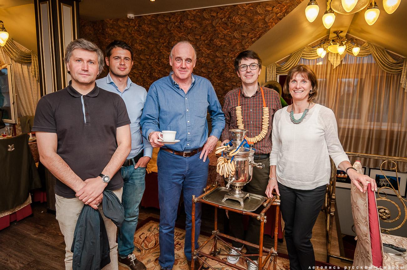 Саймон Меррей в России
