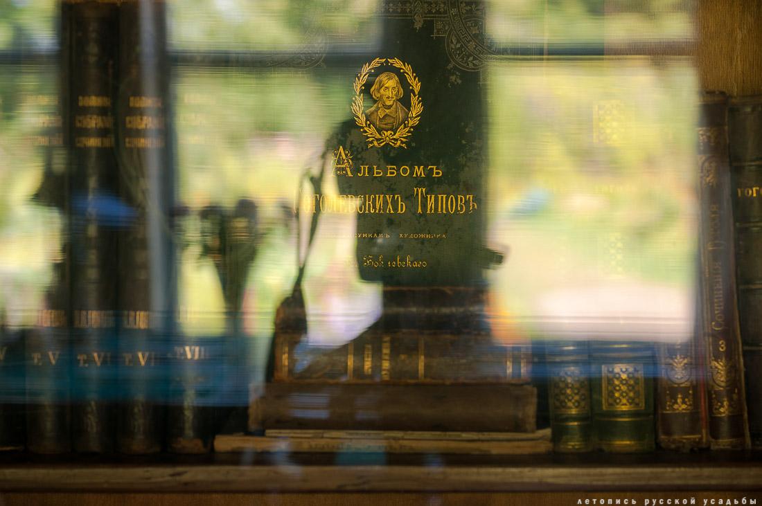 усадьба Мелихово, интерьеры главного дома, кабинет А.П. Чехова