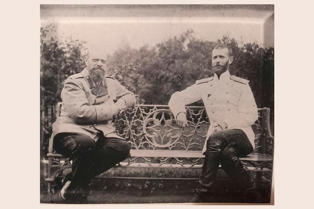 Заседание ОИРУ. Александр III и великий князь Сергей Александрович