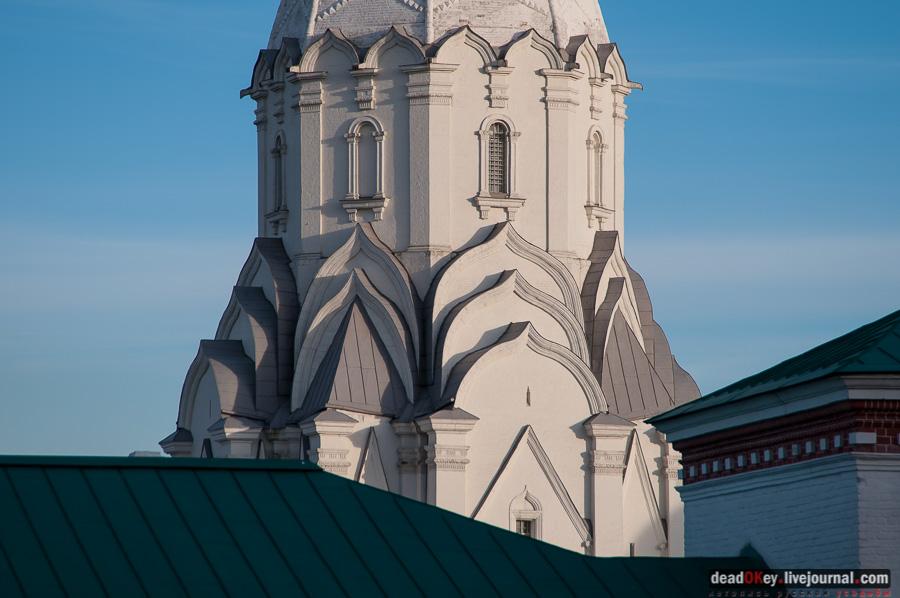 XVI век. 1532. Москва. Коломенское. Церковь Вознесения.