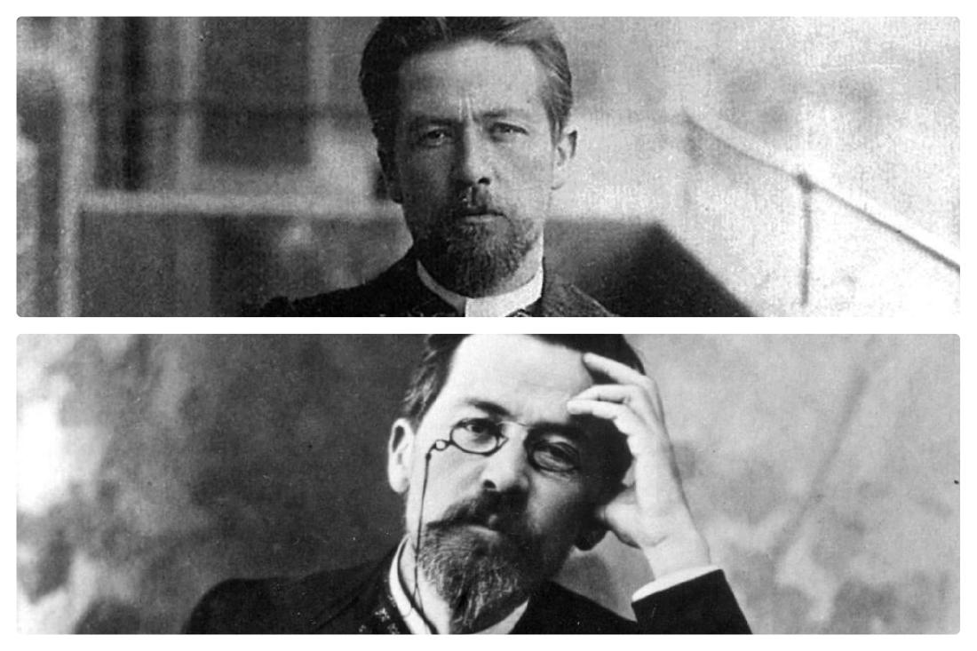 Задумчивый А.П. Чехов
